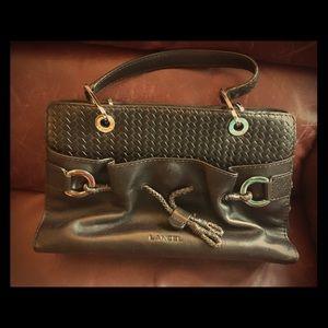 Lancel Paris Leather Handbag / Purse